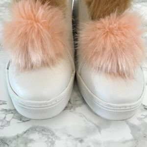 Sam Edelman Shoes - Sam Edelman Leya Faux Fur Laceless Sneaker